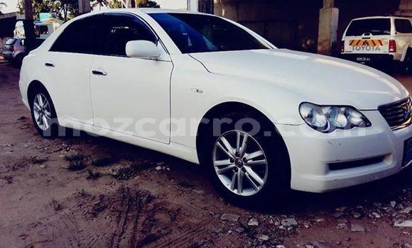 Buy Imported Toyota Mark X White Car in Muanza in Sofala