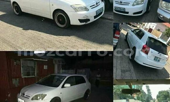 Comprar Usado Toyota Runx Branco Carro em Maputo em Maputo