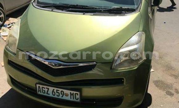 Comprar Usado Toyota Ractis Verde Carro em Maputo em Maputo
