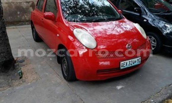 Buy Used Nissan March Red Car in Maputo in Maputo
