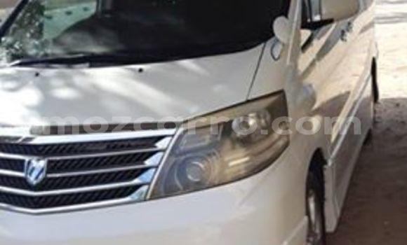 Comprar Usado Toyota Alphard Branco Carro em Maputo em Maputo
