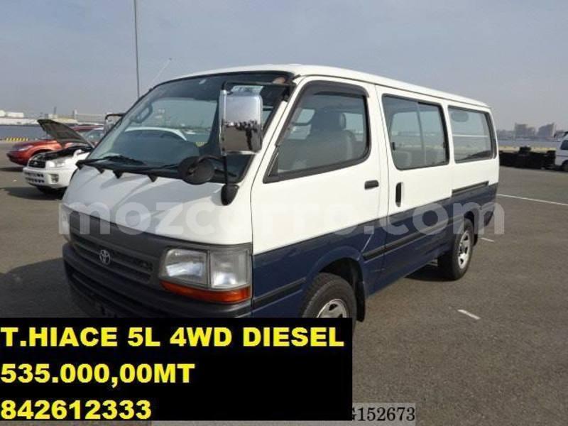 Buy Used Toyota Hiace Other Car in Maputo in Maputo - MozCarro