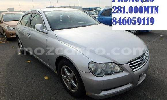 Buy Used Toyota Mark X Silver Car in Maputo in Maputo