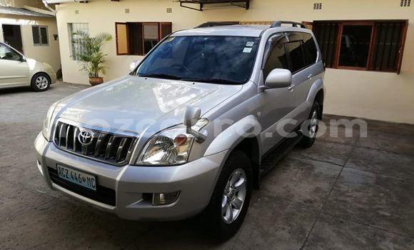 Buy Used Toyota Land Cruiser Prado Silver Car in Maputo in Maputo