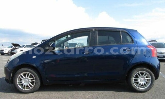 Buy Used Toyota Vitz Blue Car in Ancuabe in Cabo Delgado