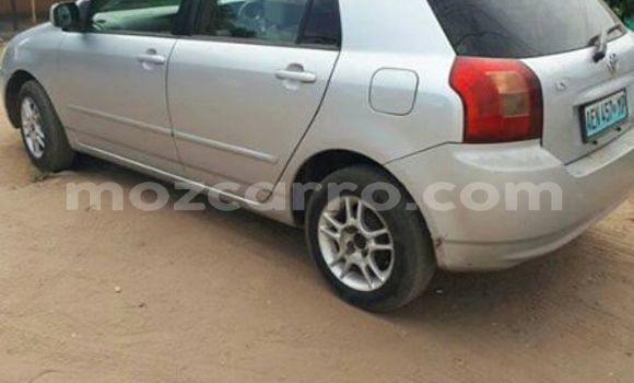 Buy Used Toyota Runx Silver Car in Ancuabe in Cabo Delgado