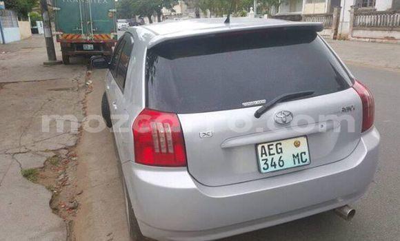 Buy Used Toyota Runx Silver Car in Ancuabe in Cabo Delgado
