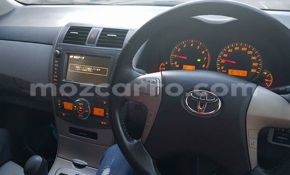 Buy Used Toyota Axio Silver Car in Ancuabe in Cabo Delgado