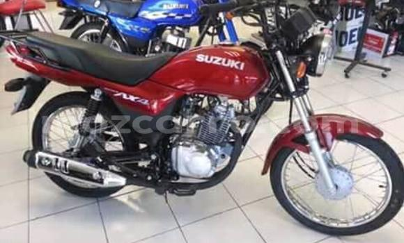 Buy Used Suzuki AX4 Red Moto in Maputo in Maputo