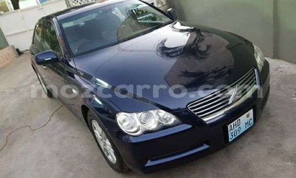 Buy Used Toyota Mark X Blue Car in Maputo in Maputo