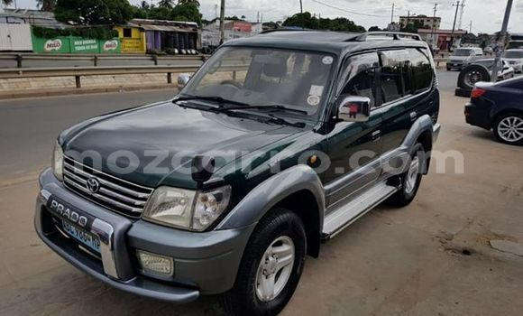 Buy Used Toyota Land Cruiser Prado Green Car in Maputo in Maputo