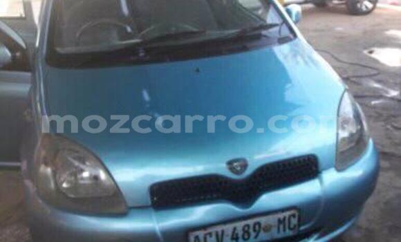 Buy Used Toyota Vitz Blue Car in Maputo in Maputo