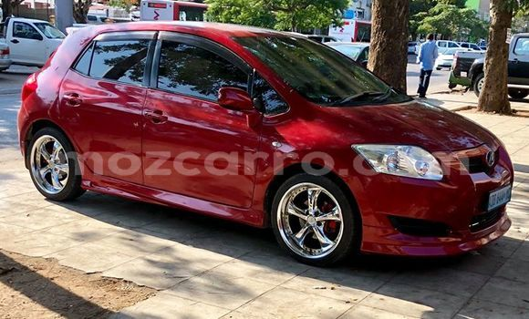 Buy Used Toyota Auris Red Car in Maputo in Maputo