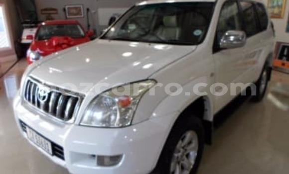 Comprar Usado Toyota Land Cruiser Prado Branco Carro em Chitima em Tete